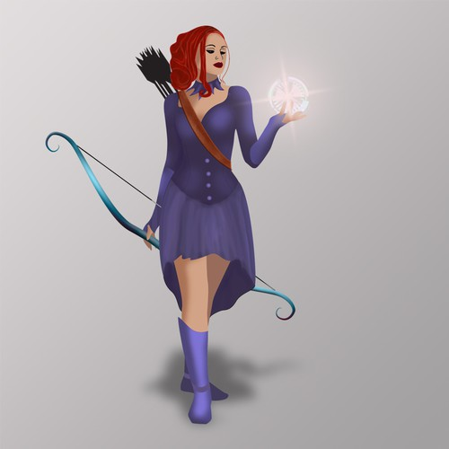 dimensional sorceress character