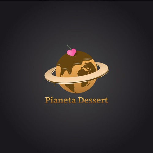 Logo for a pastry blog