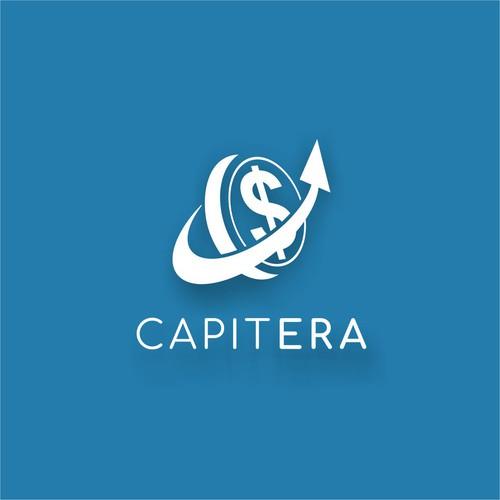 Logo for a financial technology company