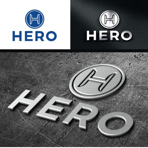 HERO.style clean and powerful Logo Design