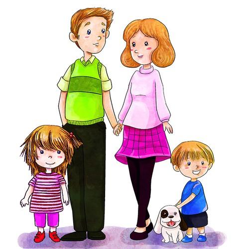 illustration for Theresa Puskar Productions