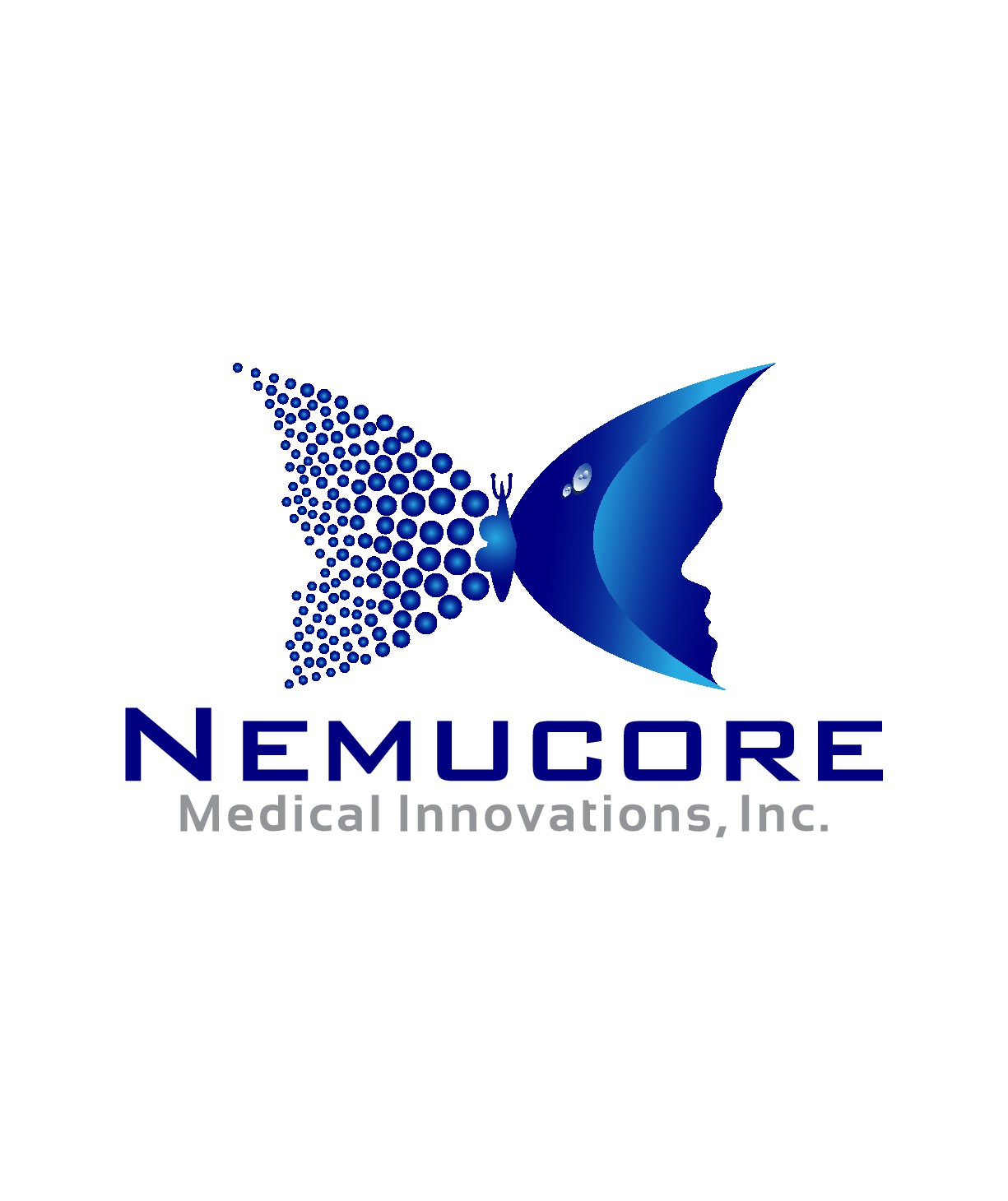 Create a logo that captures Nemucore's passion for curing cancer