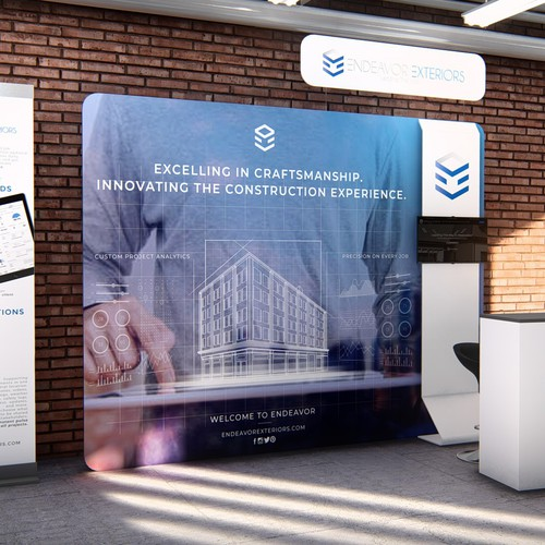 Endeavor Exteriors Trade Booth