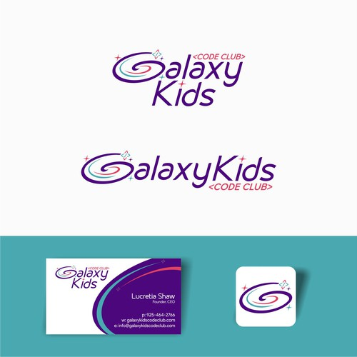 Logotype for galaxy kids
