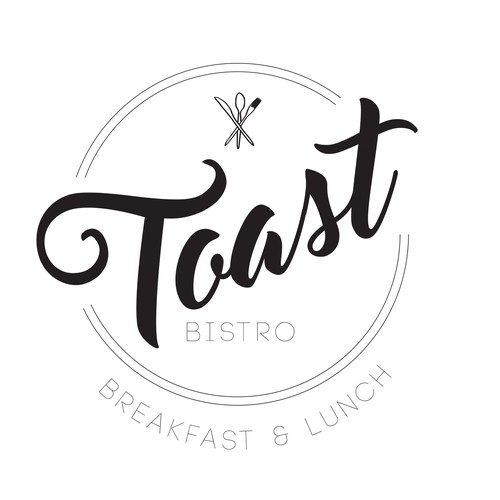 Finalist for Toast bistro logo