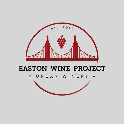 Logo concept for an Urban Winery