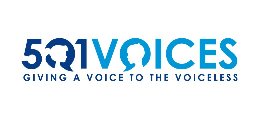 501 Voices - Giving Voices to the Voiceless - Non-profit