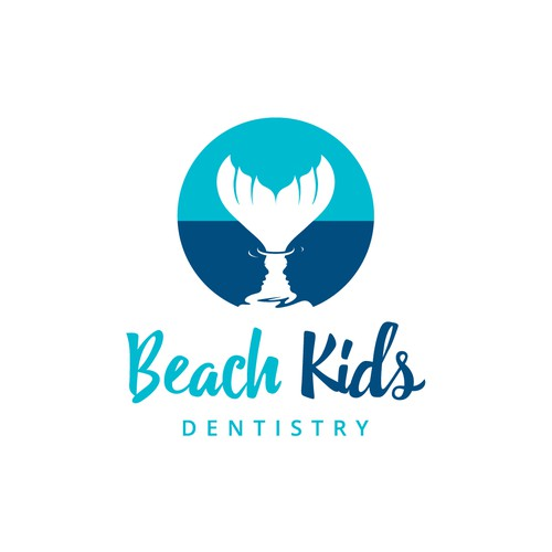 Hidden Message Logo for Dentistry