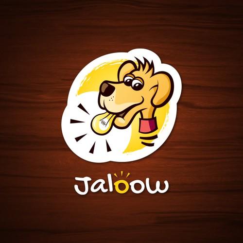 Hand-drawn dog logo