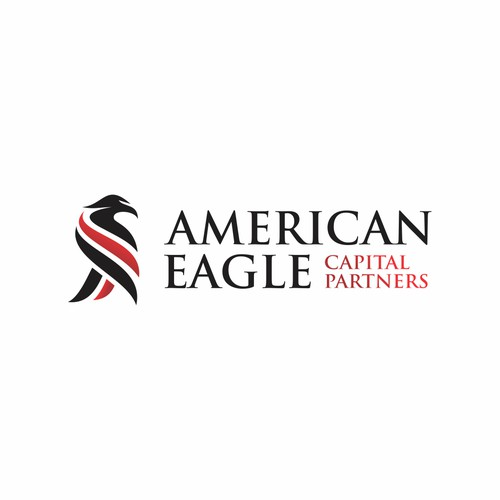 Create a business card logo for American Eagle Capital Partners