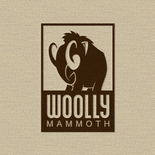 Character logo for Woolly Mammoth