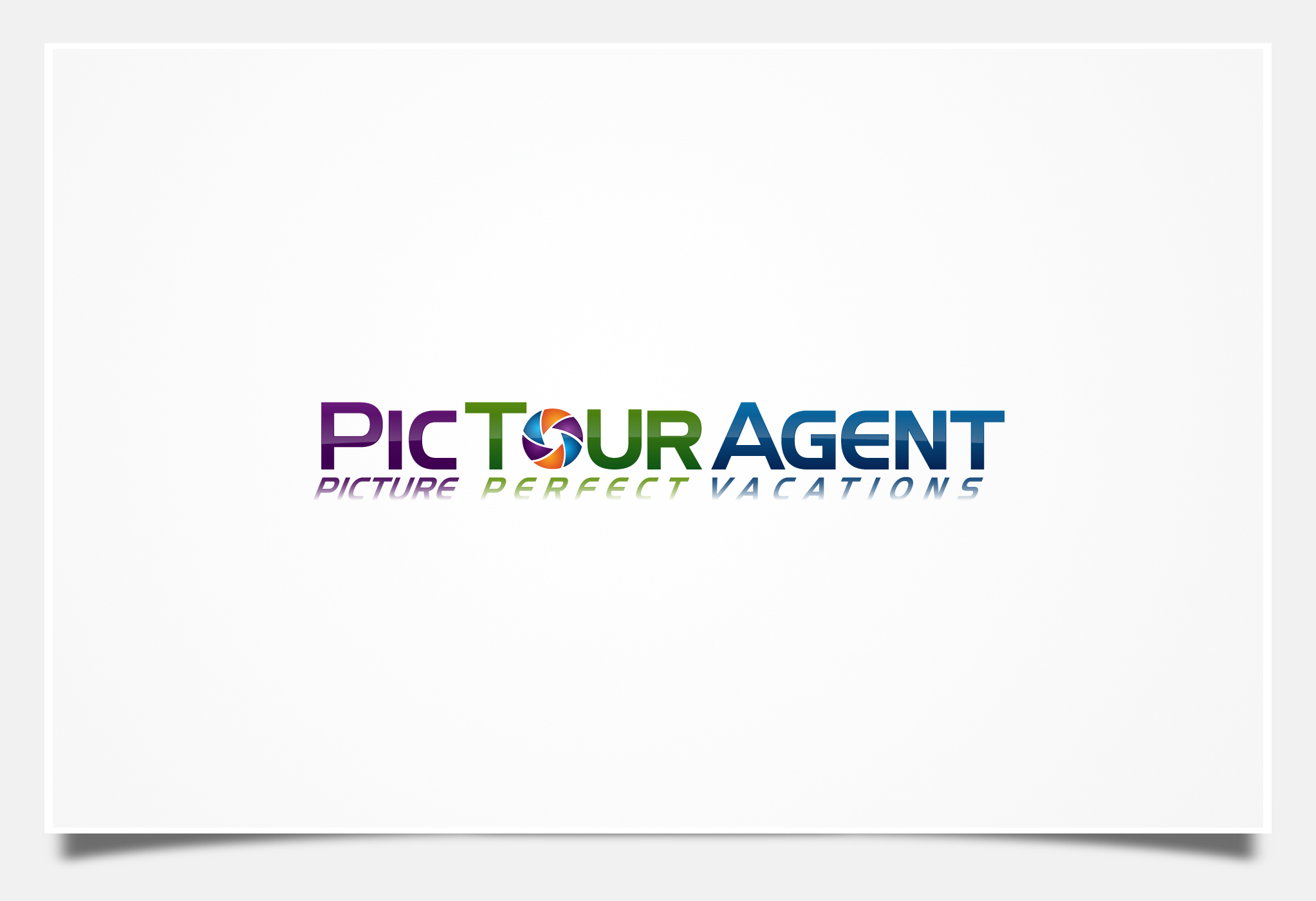 Create the next logo for PicTourAgent