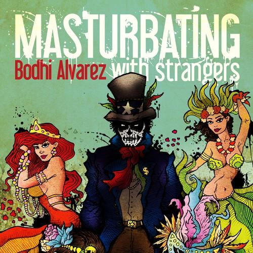 Masturbating with strangers