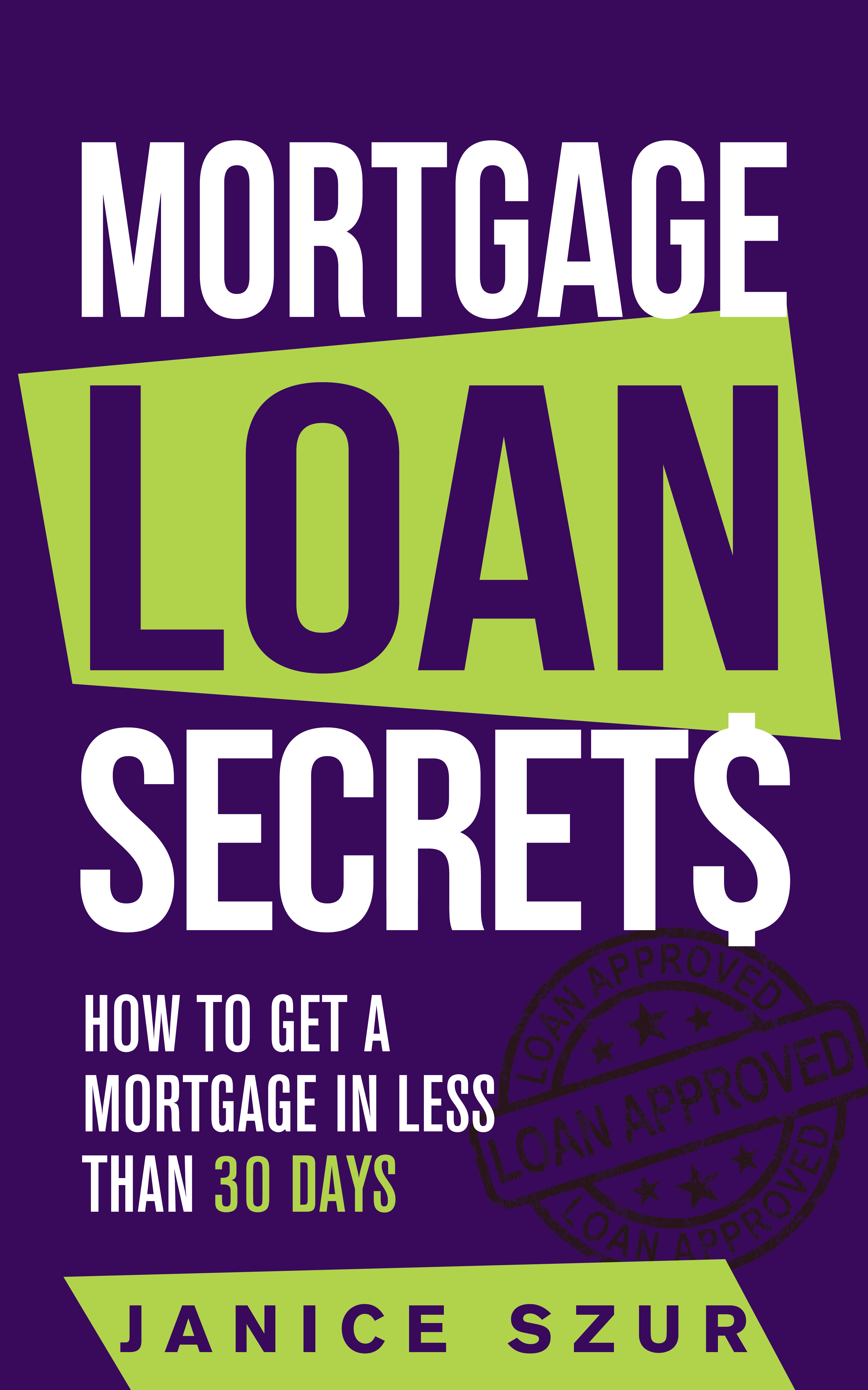 Exciting ebook cover for a mundane subject like mortgages