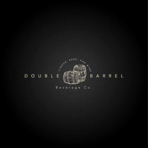 Logo concept for Double Barrel