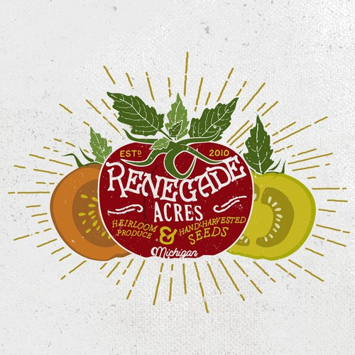 Renegade Acres Logo Design
