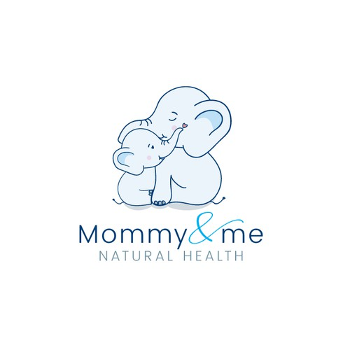 Fun logo for Moms and alternative health professionals