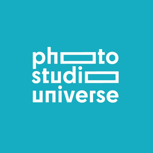 Typographic Photo Logo