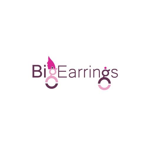 Logo design for earring company