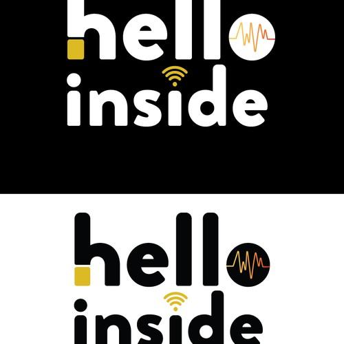Logo for  hello inside