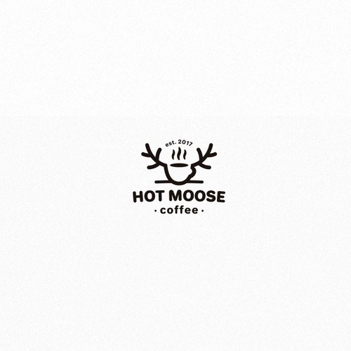 Hot moose logo
