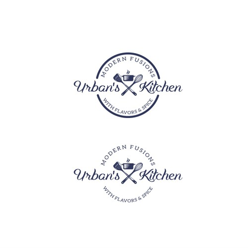 Design a Elegant & Styled Logo for Urban's Kitchen Food Blog