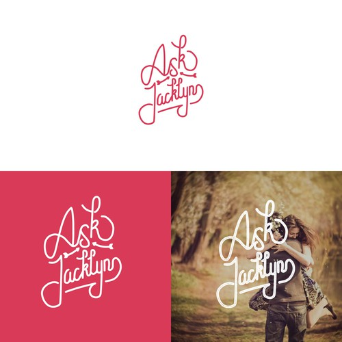 Logo concept for ask jacklyn