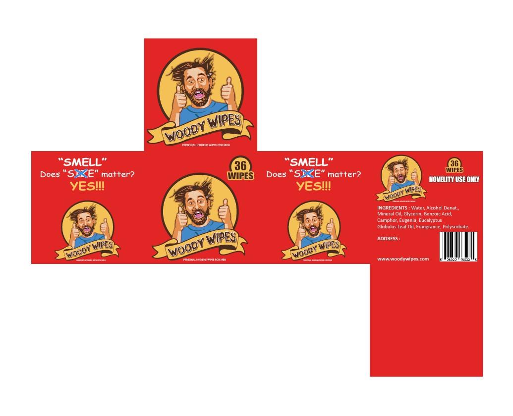 Woody Wipes Package Design