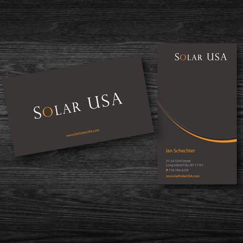stationery for SolarUSA