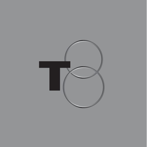 Modern, abstract logo for a film production company