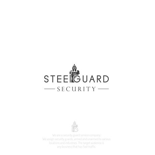 Logo design for SteelGuard Security
