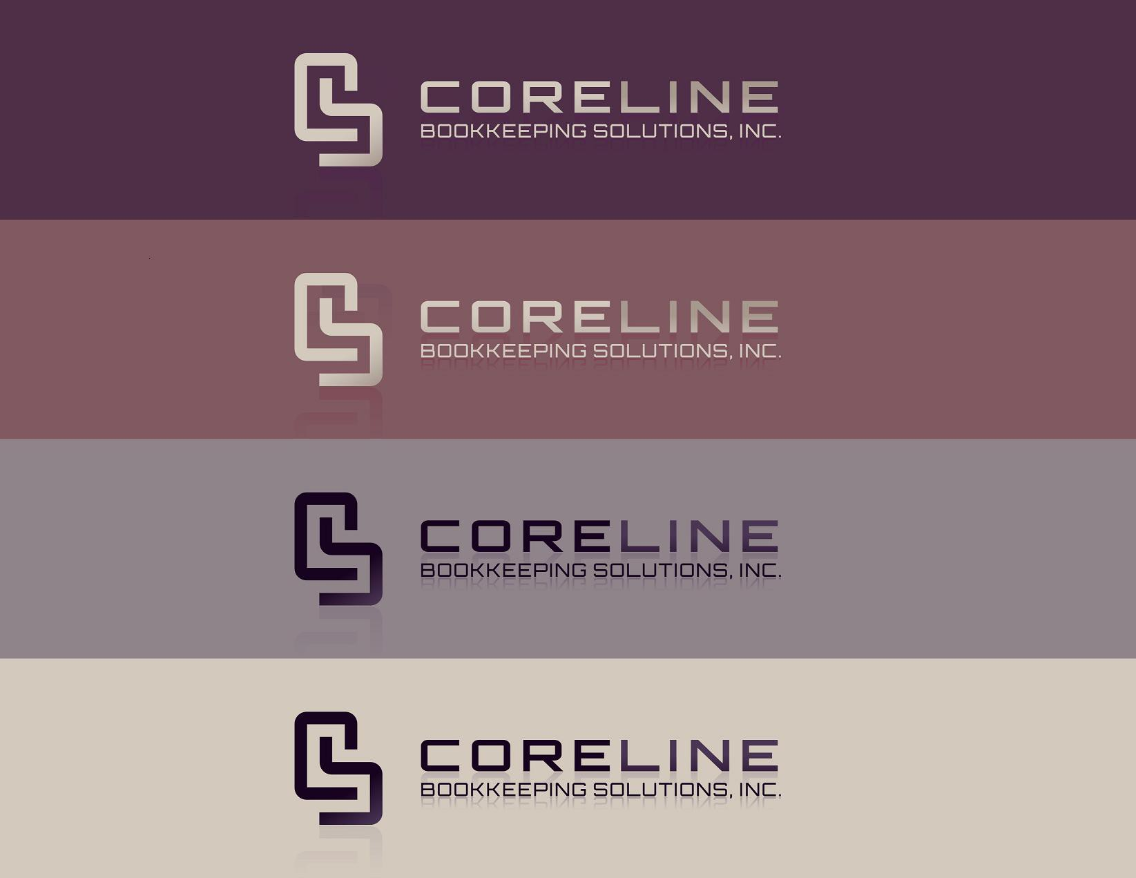 Create a logo for a bookkeeping company - CoreLine Bookkeeping Solutions, Inc.