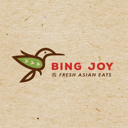 Bird logo for fresh fast Asian food