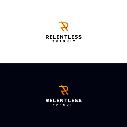 Winning Logo Concept for Relentless Pursuit