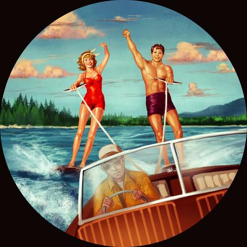 Vintage Water ski