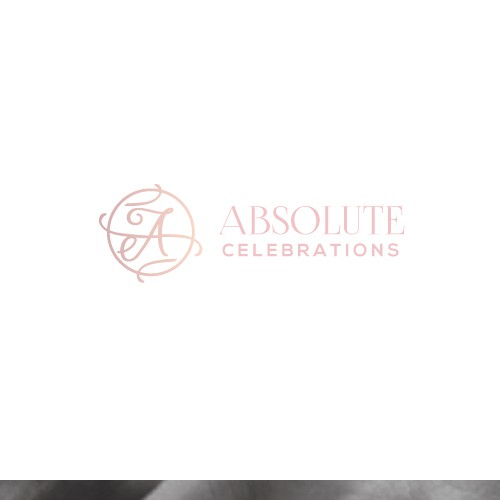 Elegant logo for wedding services