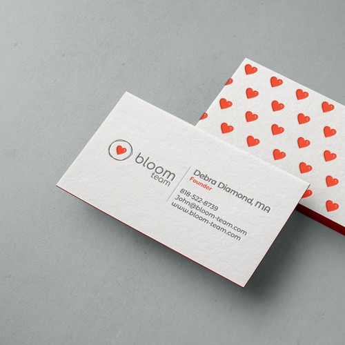 Businesscard concept for Bloom team