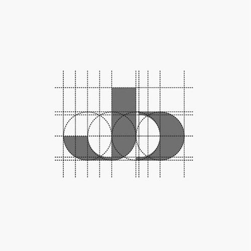 Logo Initial J + b