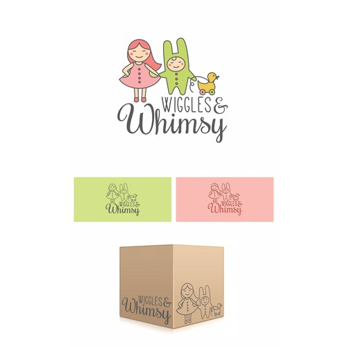Logo design for Wiggles & Whimsy