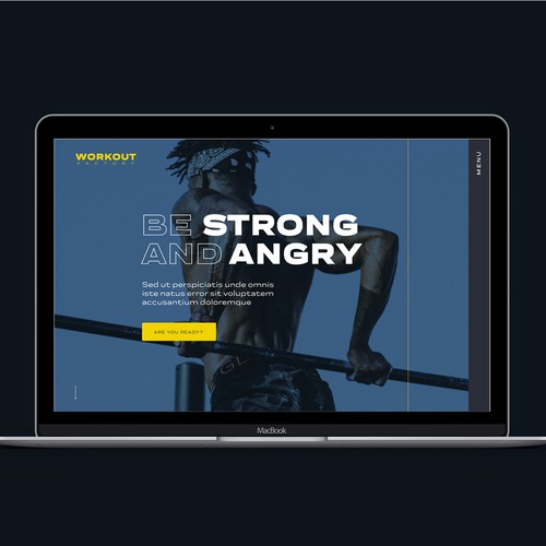 Gym Website Concept