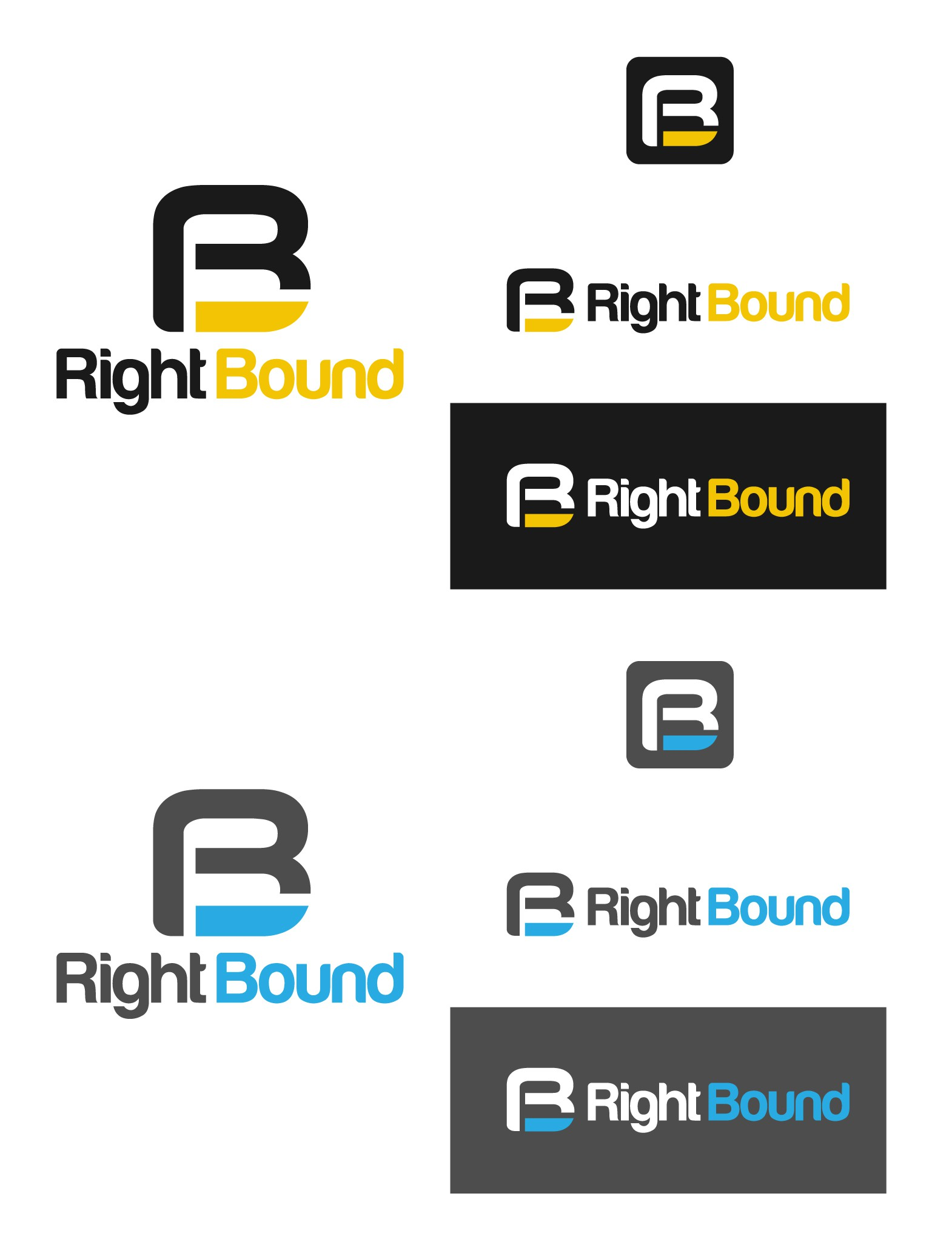 Right Bound has an awesome logo...just not yet. You get to design it.