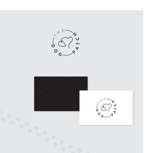Modern logo for modern kennel concept