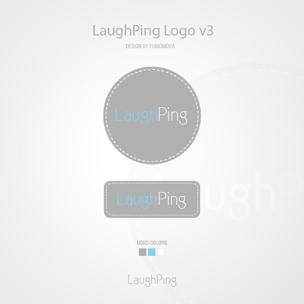 Help LaughPing with a new logo
