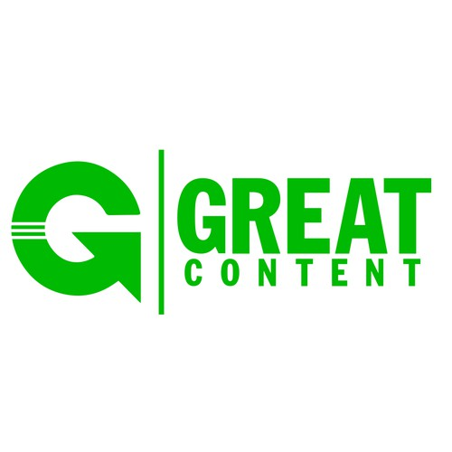 Concept logo for Great Content