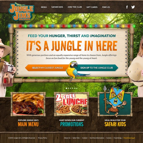 Jungle Jim's Bay & Eatery Concept Design