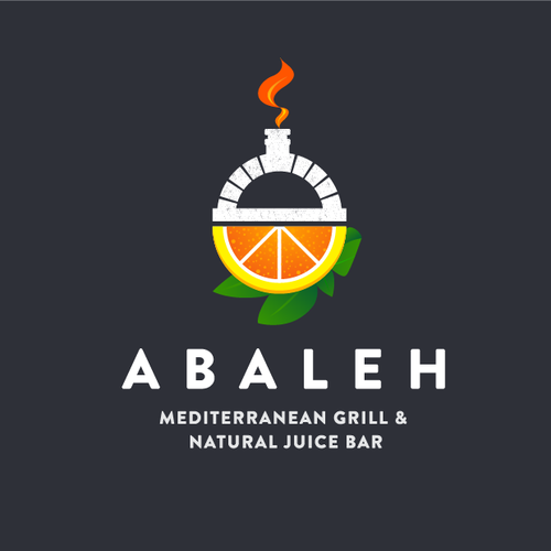 Logo for a unique Juice Bar/Grill restaurant  in Central Manhattan