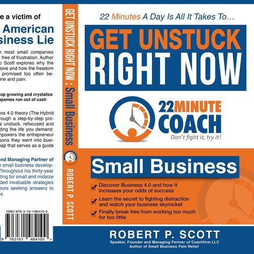 Need creative genius for a book cover for a series of business books