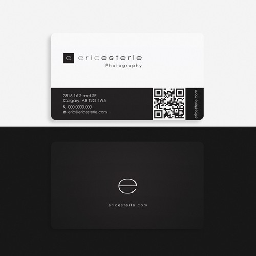 ericesterle.com Photography - Business Card
