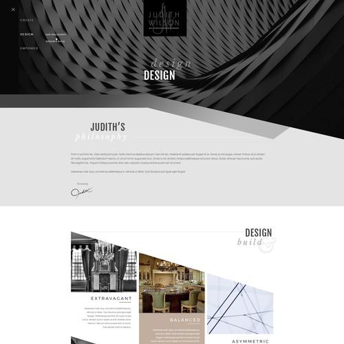 Architect/Furniture Webdesign