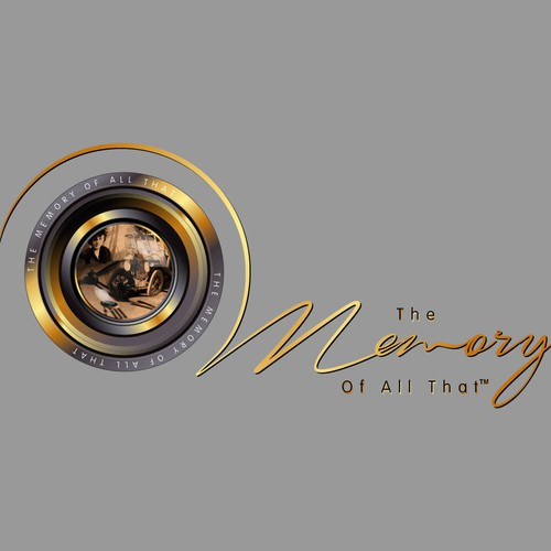"create a vintage or combination vintage/modern logo for ""The Memory Of All That"""